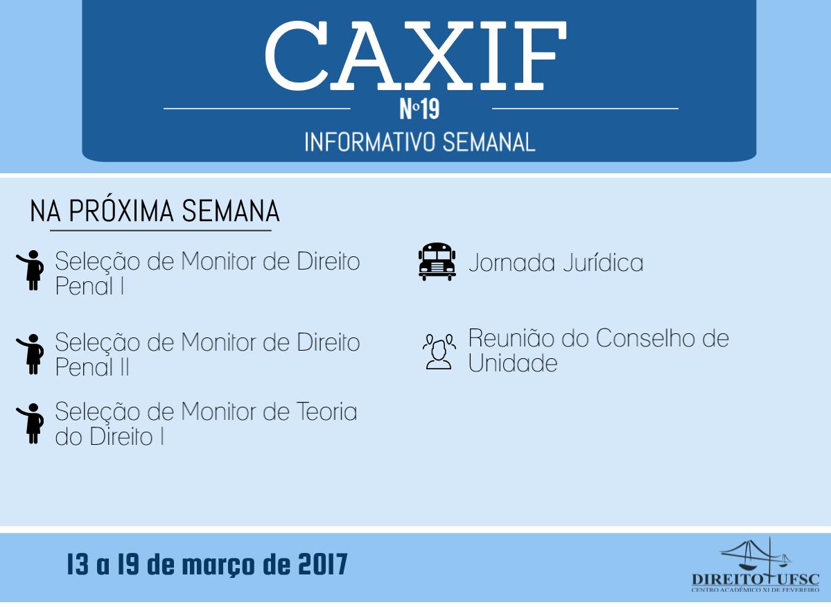 Informativo XIX